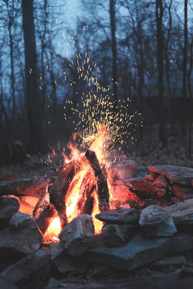 Timothy Meinberg's photo of a campfire