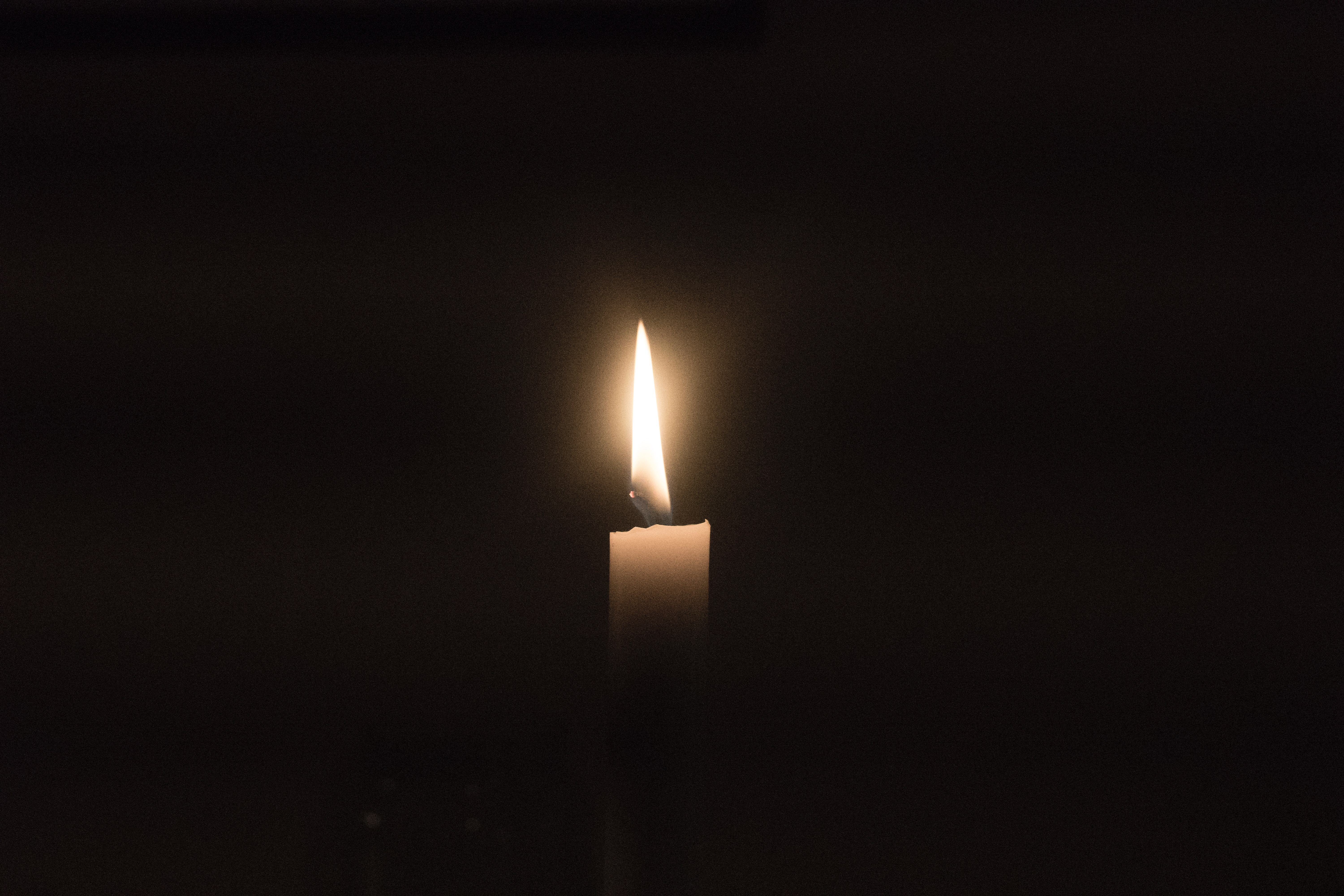 A candle for gratitude